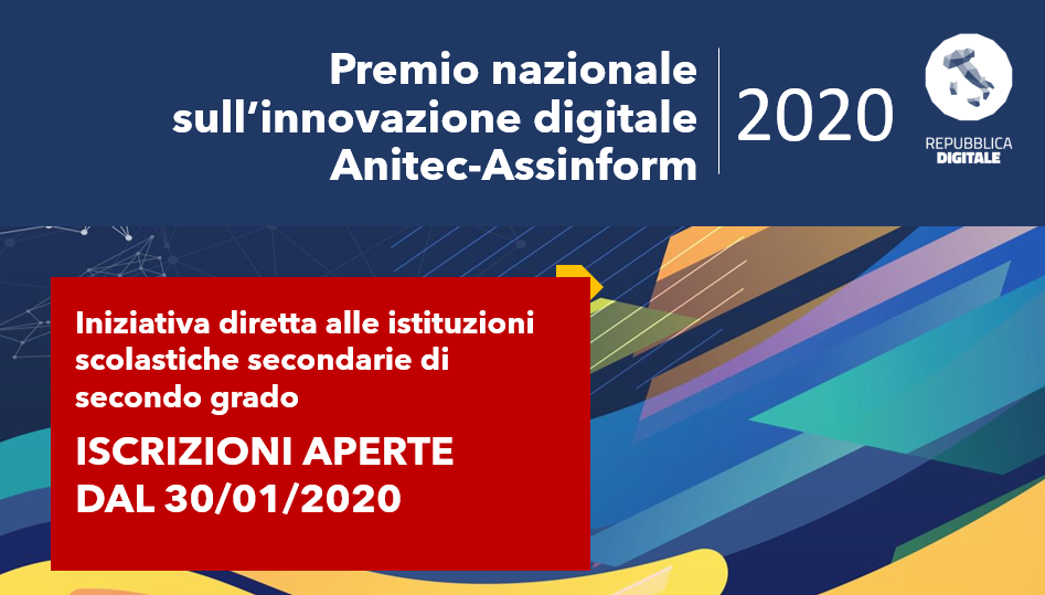 Premio nazionale sull'innovazione digitale Anitec-Assinform 2020
